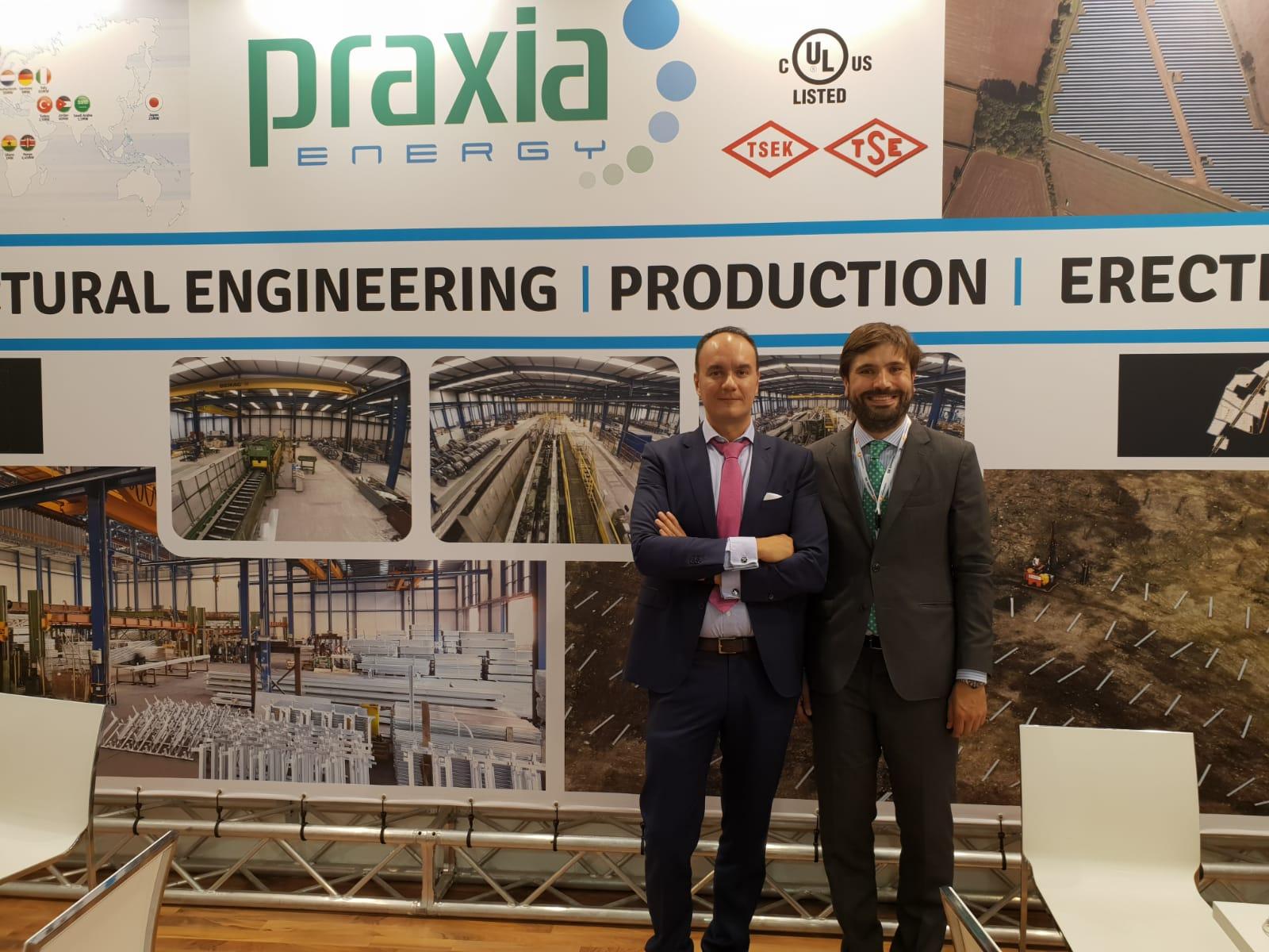 Stand de Praxia en Intersolar 2018