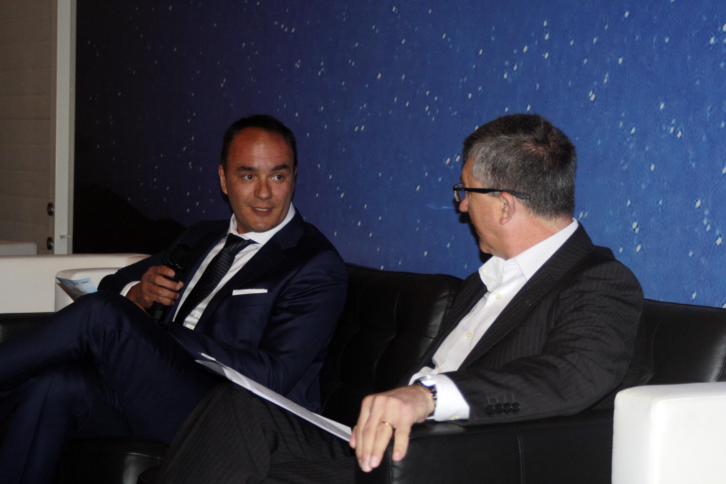 Marcos J Lacruz y Rafael Climent