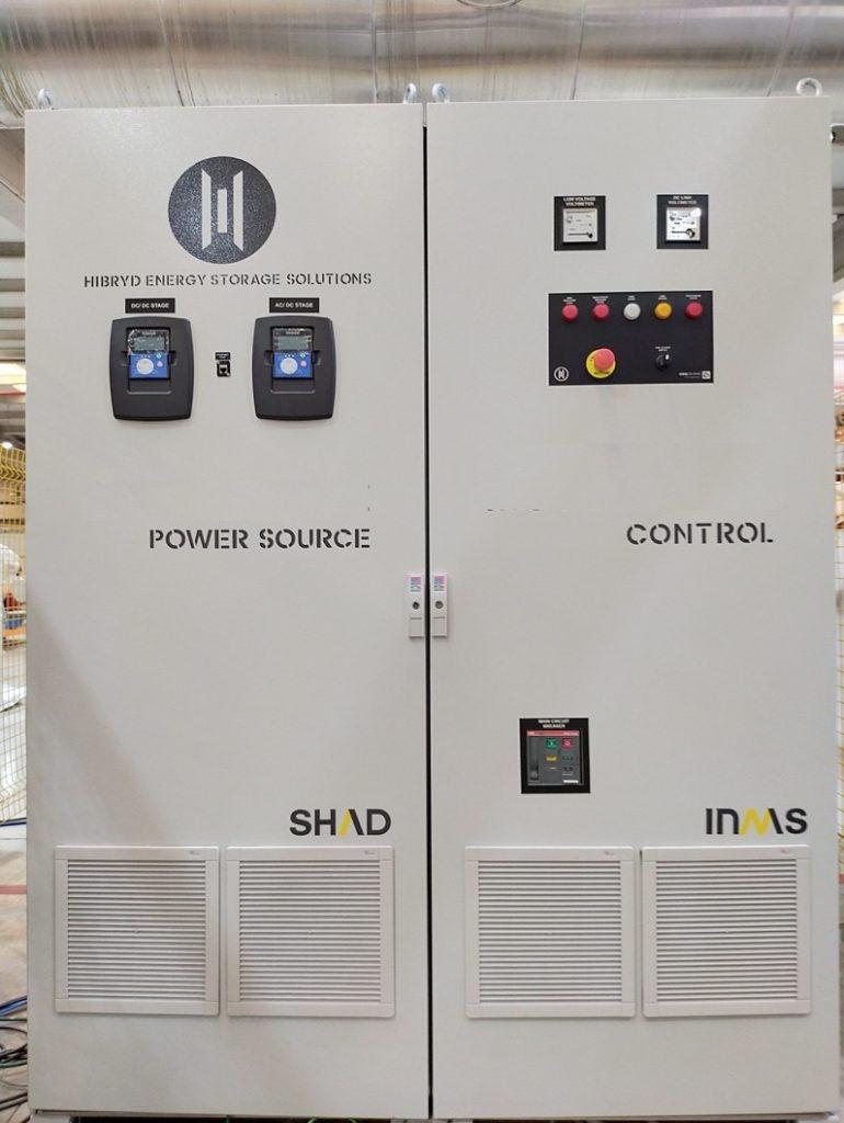 Sistema para integración de almacenamiento híbrido SHAD®